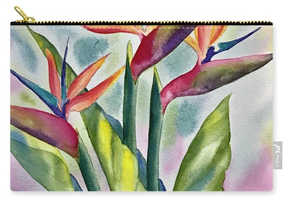 Bird Of Paradise Flowers Carry-all Pouch