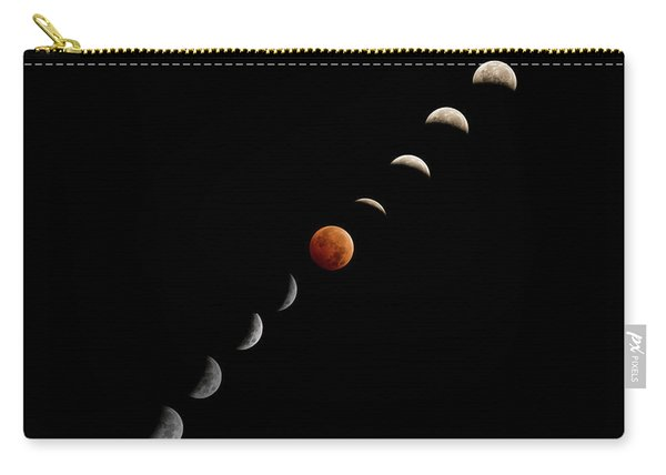Blood Moon Eclipse Carry-all Pouch