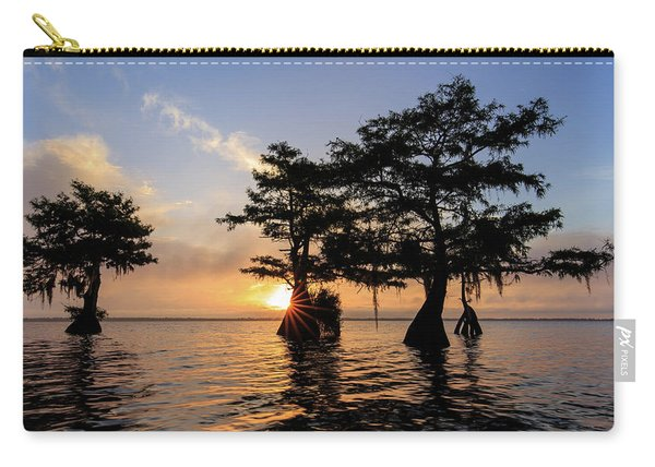 Blue Cypress Lake Morning Carry-all Pouch