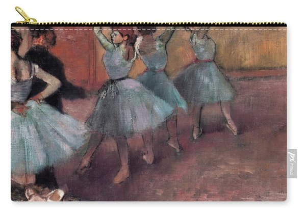 Blue Dancers Carry-all Pouch