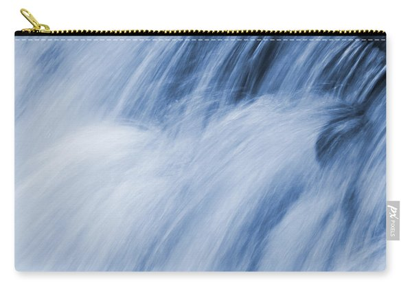 Blue Toned Rushing Water Carry-all Pouch