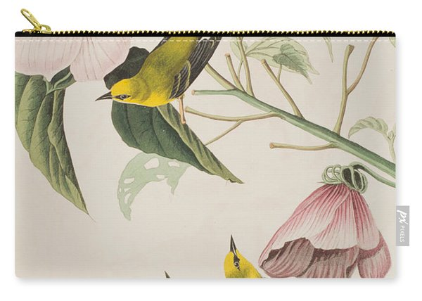 Blue-winged Yellow Warbler  Carry-all Pouch