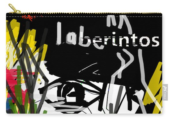 Borges' Labyrinths Poster Carry-all Pouch