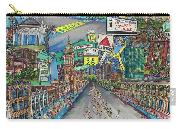 Boston Strong Carry-all Pouch