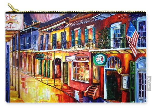 Bourbon Street Red Carry-all Pouch