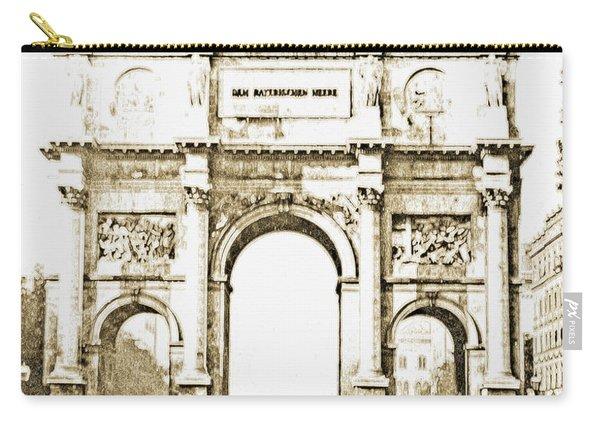 Brandenburg Gate, Berlin Germany, 1903, Vintage Image Carry-all Pouch