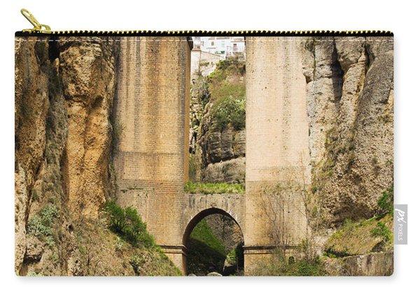 Bridge In Ronda Carry-all Pouch