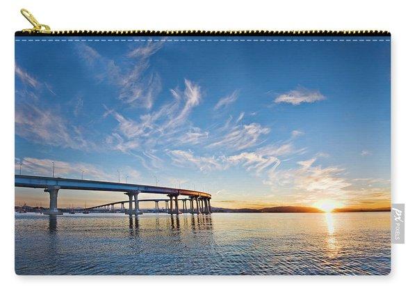 Bridge Sunrise Carry-all Pouch