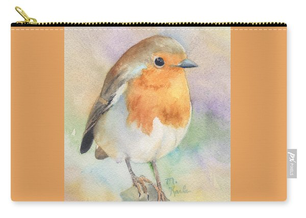 British Robin Carry-all Pouch
