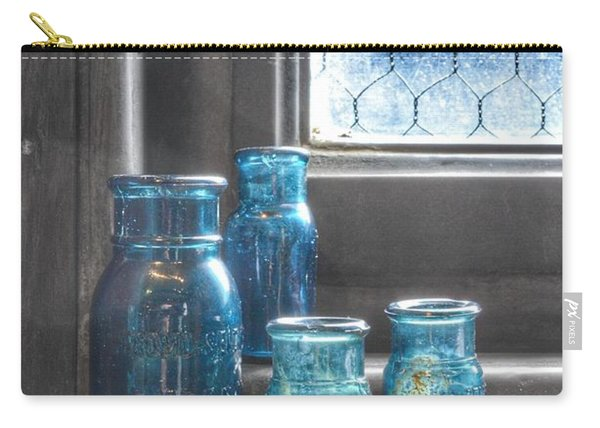 Bromo Seltzer Vintage Glass Bottles Carry-all Pouch