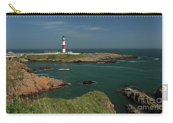 Buchan Ness Lighthouse And The North Sea Carry-all Pouch