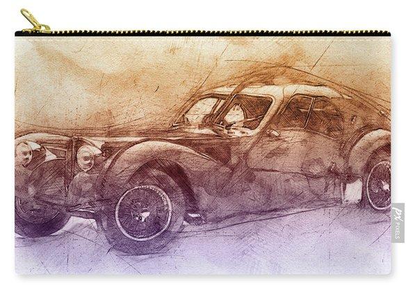 Bugatti Type 57 - Atlantic 2 - 1934 - Automotive Art - Car Posters Carry-all Pouch