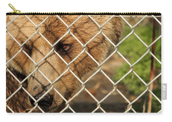 Caged Bear Carry-all Pouch