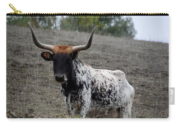 California Longhorn Painting Carry-all Pouch