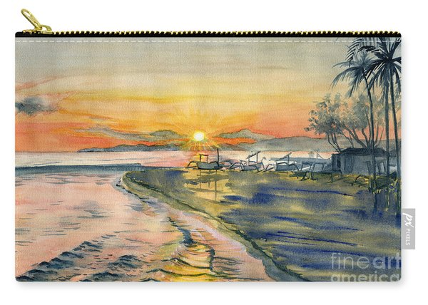 Candidasa Sunset, Bali Indonesia Carry-all Pouch