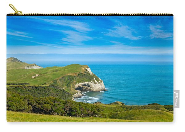 Cape Farewell Able Tasman National Park Carry-all Pouch