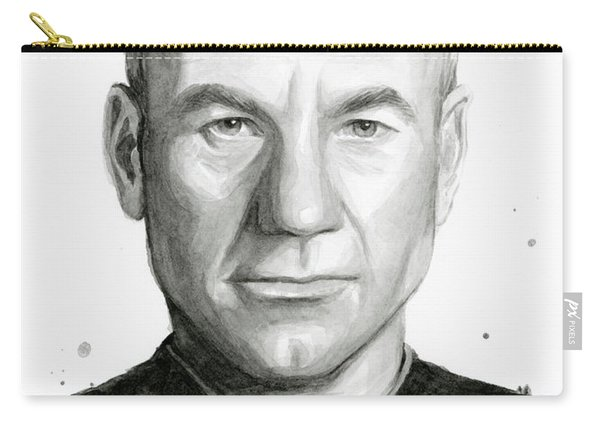 Captain Picard Carry-all Pouch