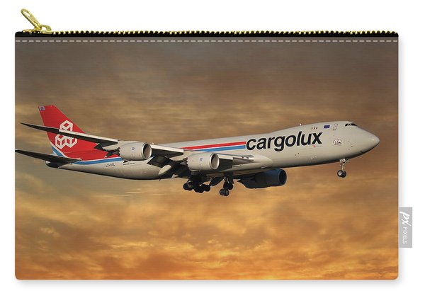 Cargolux Boeing 747-8r7 2 Carry-all Pouch
