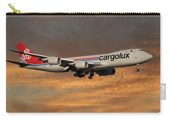 Cargolux Boeing 747-8r7 3 Carry-all Pouch