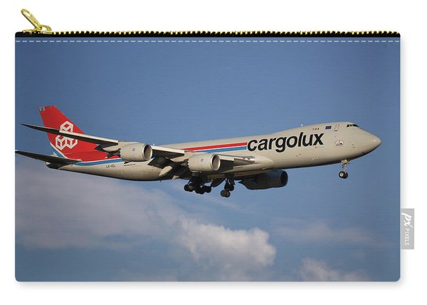 Cargolux Boeing 747-8r7 4 Carry-all Pouch