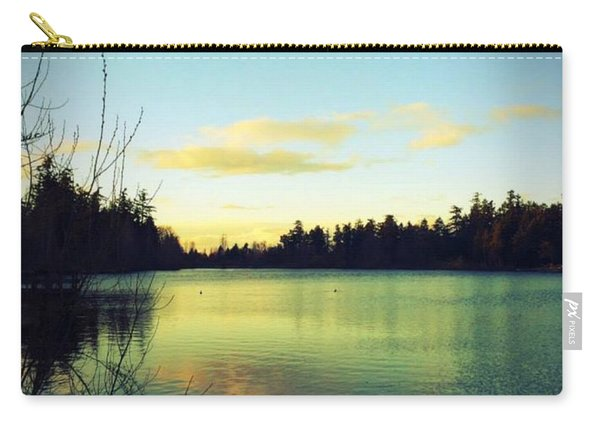 Center Of Peace Carry-all Pouch