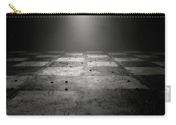 Chessboard Dark Carry-all Pouch