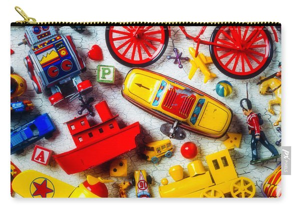 Childhood Toys Carry-all Pouch