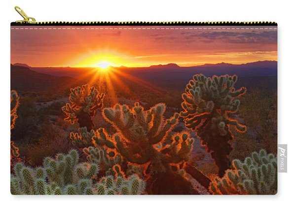Cholla Sunset  Carry-all Pouch