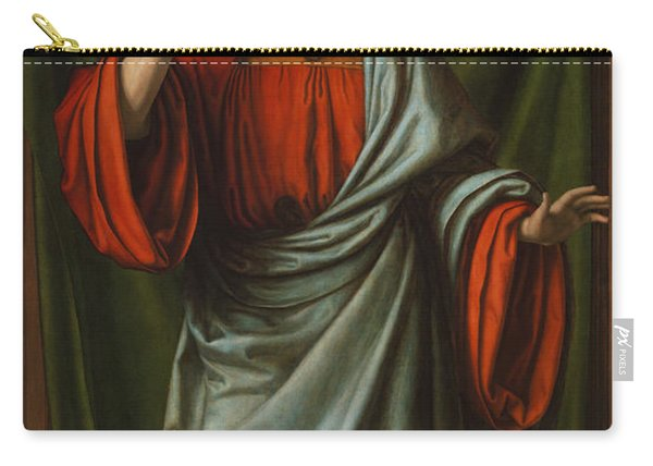 Christ Blessing Carry-all Pouch