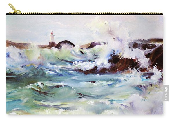 Churning Surf Carry-all Pouch