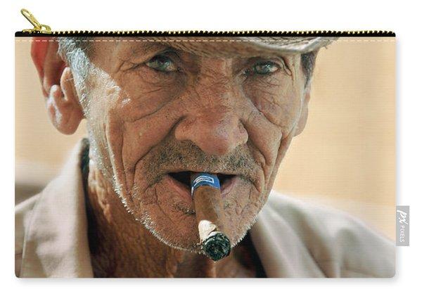 Cigar Smoking - Trinidad - Cuba Carry-all Pouch