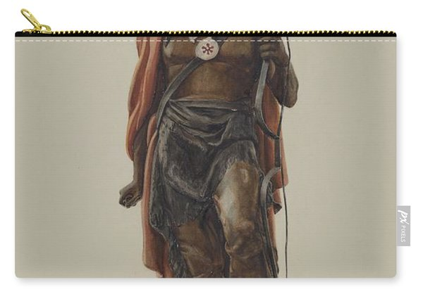 Cigar Store Indian Carry-all Pouch