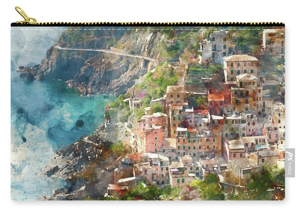 Cinque Terre In Italy Carry-all Pouch