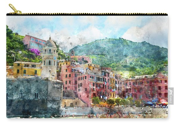 Cinque Terre Italy Carry-all Pouch