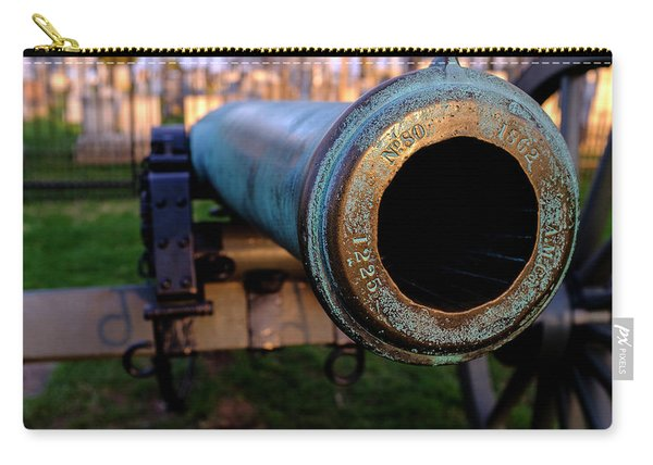 Civil War Cannon 1862 In Gettysburg Pa Carry-all Pouch