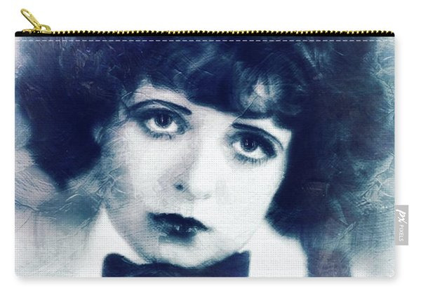 Clara Bow, Vintage Actress Carry-all Pouch