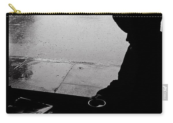 Coffee In The Rain Carry-all Pouch