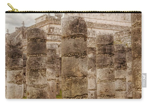 Colomnade Of Warriors Carry-all Pouch