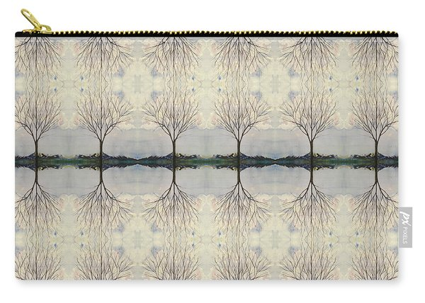 Colorado Cottonwood Tree Mirror Image  Carry-all Pouch