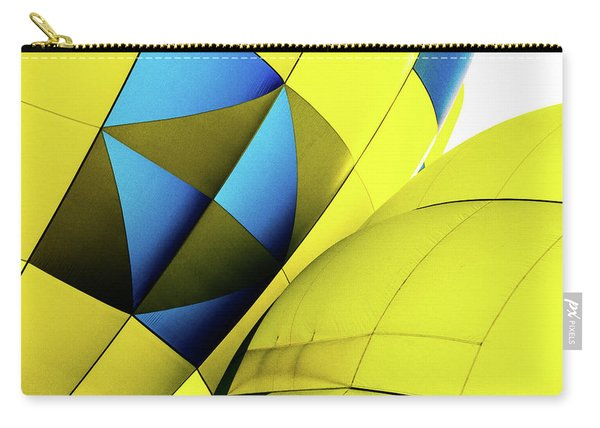 Colorful Abstract Hot Air Balloons Carry-all Pouch
