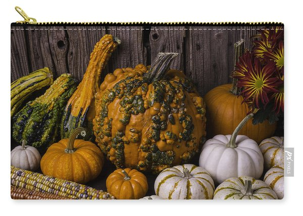 Colorful Autumn Still Life Carry-all Pouch