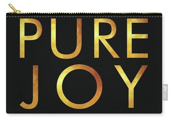 Consider It Pure Joy - James 1 2 - Bible Verses Art Carry-all Pouch