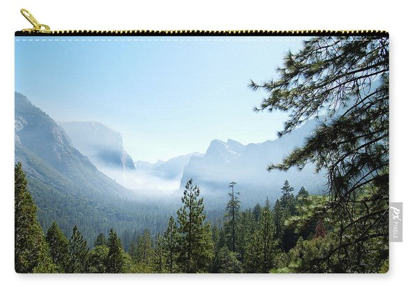 Controlled Burn Of Yosemite Carry-all Pouch