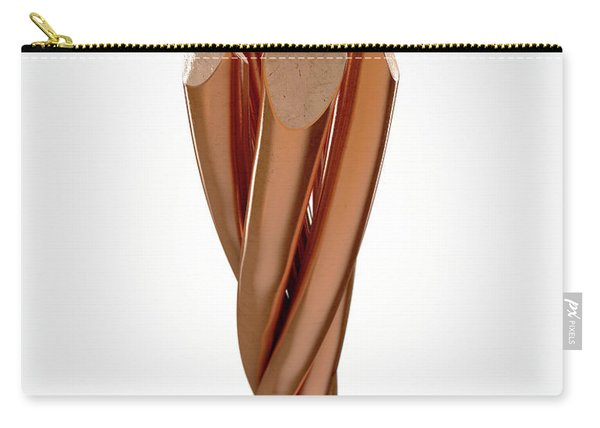 Copper Wire Strands Carry-all Pouch