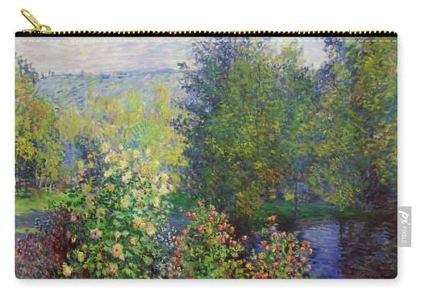 Corner Of The Garden At Montgeron Carry-all Pouch