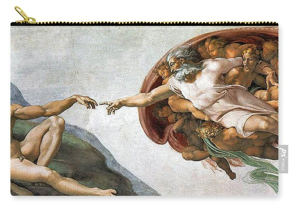 Creation Of Adam Carry-all Pouch