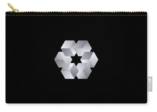 Cube Star Carry-all Pouch