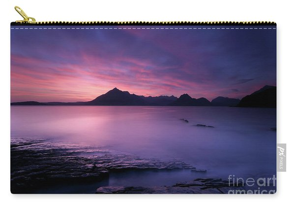Cuillins At Sunset Carry-all Pouch