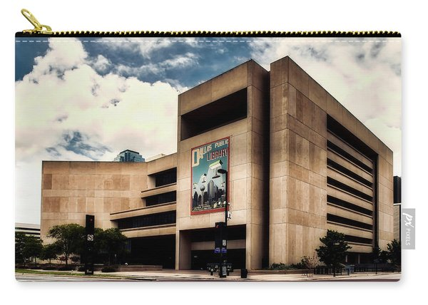 Dallas Central Library Carry-all Pouch