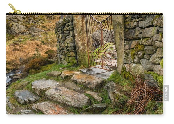 Decorative Iron Gate  Carry-all Pouch